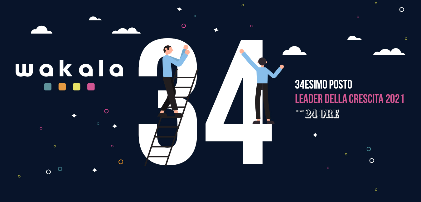 Leader della crescita 2021 - Wakala